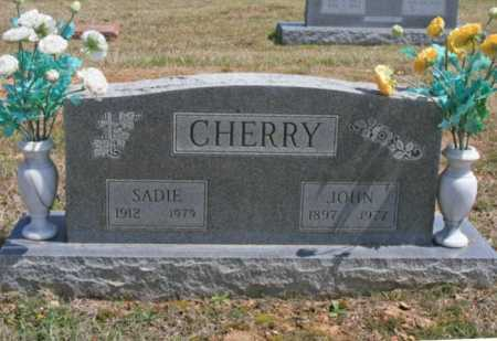 CHERRY, SADIE - Benton County, Arkansas | SADIE CHERRY - Arkansas Gravestone Photos