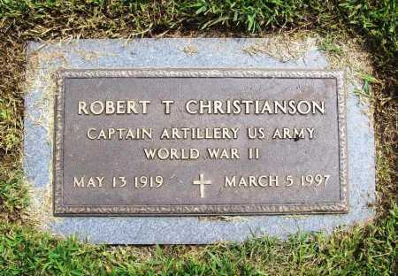 CHRISTIANSON (VETERAN WWII), ROBERT T. - Benton County, Arkansas | ROBERT T. CHRISTIANSON (VETERAN WWII) - Arkansas Gravestone Photos