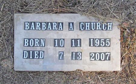 CHURCH, BARBARA ALLEN - Benton County, Arkansas | BARBARA ALLEN CHURCH - Arkansas Gravestone Photos