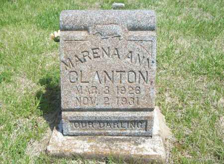 CLANTON, MARENA ANN - Benton County, Arkansas | MARENA ANN CLANTON - Arkansas Gravestone Photos