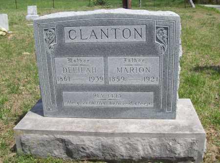CLANTON, DELILAH - Benton County, Arkansas | DELILAH CLANTON - Arkansas Gravestone Photos