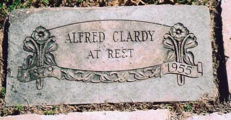 CLARDY, ALFRED - Benton County, Arkansas | ALFRED CLARDY - Arkansas Gravestone Photos