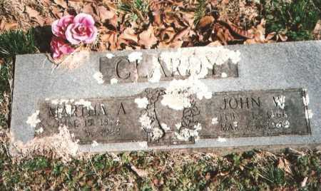 CLARDY, JOHN WASHINGTON - Benton County, Arkansas | JOHN WASHINGTON CLARDY - Arkansas Gravestone Photos