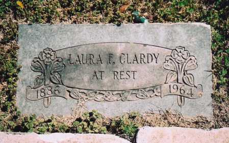 GIBSON CLARDY, LAURA FRANCES - Benton County, Arkansas | LAURA FRANCES GIBSON CLARDY - Arkansas Gravestone Photos