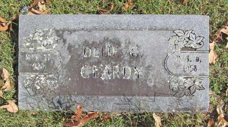 CLARDY, OLLIE CARL - Benton County, Arkansas | OLLIE CARL CLARDY - Arkansas Gravestone Photos
