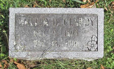 CLARDY, WALTER DEAN - Benton County, Arkansas | WALTER DEAN CLARDY - Arkansas Gravestone Photos