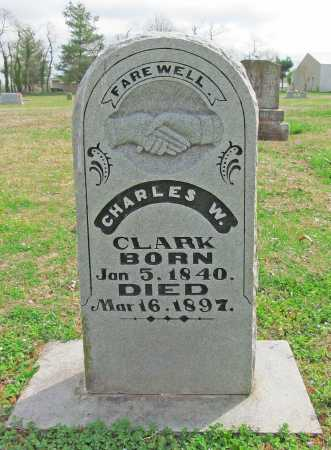CLARK, CHARLES W - Benton County, Arkansas | CHARLES W CLARK - Arkansas Gravestone Photos