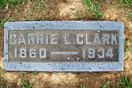 CLARK, CARRIE L. - Benton County, Arkansas | CARRIE L. CLARK - Arkansas Gravestone Photos