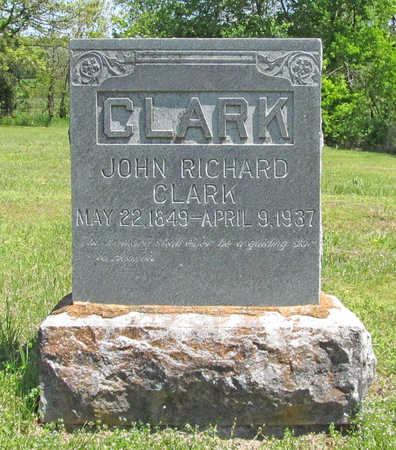 CLARK, JOHN RICHARD - Benton County, Arkansas | JOHN RICHARD CLARK - Arkansas Gravestone Photos