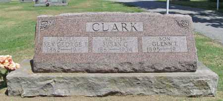 CLARK, REV. GEORGE T. - Benton County, Arkansas | REV. GEORGE T. CLARK - Arkansas Gravestone Photos