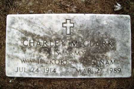 CLARK (VETERAN 3 WARS), CHARLEY M. - Benton County, Arkansas | CHARLEY M. CLARK (VETERAN 3 WARS) - Arkansas Gravestone Photos
