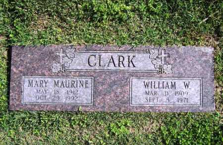 CLARK, MARY MAURINE - Benton County, Arkansas | MARY MAURINE CLARK - Arkansas Gravestone Photos