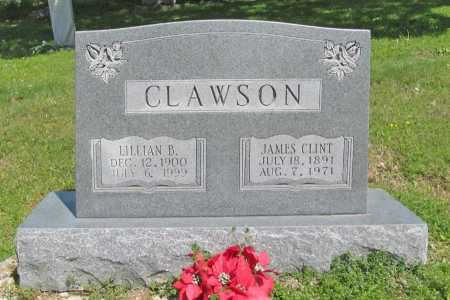 CLAWSON, JAMES CLINT - Benton County, Arkansas | JAMES CLINT CLAWSON - Arkansas Gravestone Photos