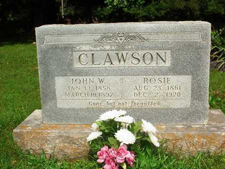 CLAWSON, JOHN W. - Benton County, Arkansas | JOHN W. CLAWSON - Arkansas Gravestone Photos