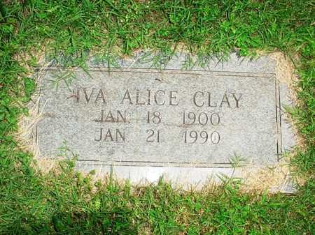 CLAY, IVA ALICE - Benton County, Arkansas | IVA ALICE CLAY - Arkansas Gravestone Photos