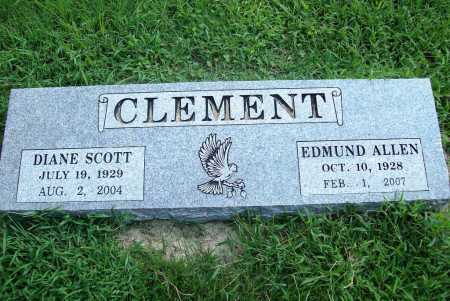 SCOTT CLEMENT, DIANE - Benton County, Arkansas | DIANE SCOTT CLEMENT - Arkansas Gravestone Photos