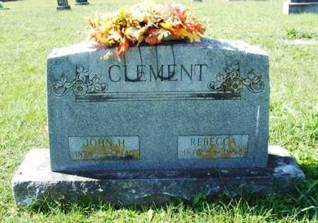 CLEMENT, JOHN H. - Benton County, Arkansas | JOHN H. CLEMENT - Arkansas Gravestone Photos