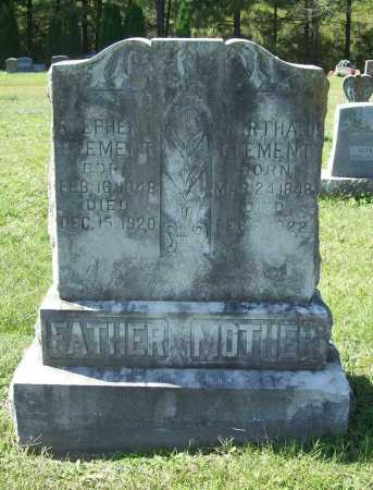 WOODSON CLEMENT, MARTHA J. - Benton County, Arkansas | MARTHA J. WOODSON CLEMENT - Arkansas Gravestone Photos