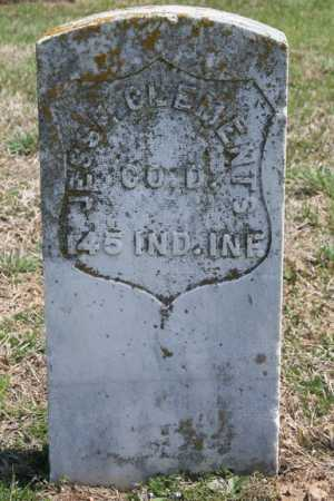 CLEMENTS (VETERAN UNION), JESSE - Benton County, Arkansas | JESSE CLEMENTS (VETERAN UNION) - Arkansas Gravestone Photos