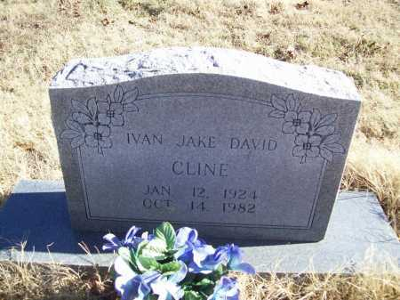 CLINE, IVAN JAKE DAVID - Benton County, Arkansas | IVAN JAKE DAVID CLINE - Arkansas Gravestone Photos
