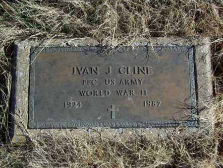 CLINE (VETERAN WWII), IVAN JAKE - Benton County, Arkansas | IVAN JAKE CLINE (VETERAN WWII) - Arkansas Gravestone Photos