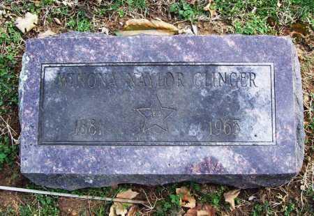 CLINGER, WINONA - Benton County, Arkansas | WINONA CLINGER - Arkansas Gravestone Photos