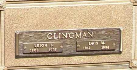 CLINGMAN, LEIGH S. - Benton County, Arkansas | LEIGH S. CLINGMAN - Arkansas Gravestone Photos