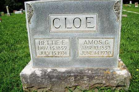 CLOE, AMOS G. - Benton County, Arkansas | AMOS G. CLOE - Arkansas Gravestone Photos