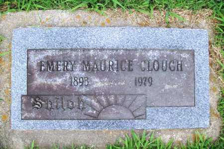 CLOUGH, EMERY MAURICE - Benton County, Arkansas | EMERY MAURICE CLOUGH - Arkansas Gravestone Photos
