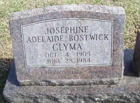 BOSTWICK CLYMA, JOSEPHINE ADELAIDE - Benton County, Arkansas | JOSEPHINE ADELAIDE BOSTWICK CLYMA - Arkansas Gravestone Photos