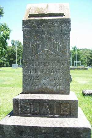 COATS, BELLE - Benton County, Arkansas | BELLE COATS - Arkansas Gravestone Photos