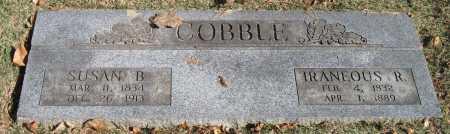 COBBLE, IRANEOUS R - Benton County, Arkansas | IRANEOUS R COBBLE - Arkansas Gravestone Photos