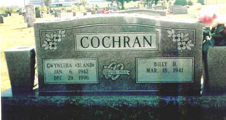 COCHRAN, BILLY D. - Benton County, Arkansas | BILLY D. COCHRAN - Arkansas Gravestone Photos