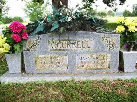 COCKRELL, MARY VIOLET - Benton County, Arkansas | MARY VIOLET COCKRELL - Arkansas Gravestone Photos