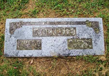 COCKRELL, JAMES N. - Benton County, Arkansas | JAMES N. COCKRELL - Arkansas Gravestone Photos