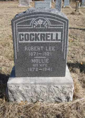COCKRELL, ROBERT LEE - Benton County, Arkansas | ROBERT LEE COCKRELL - Arkansas Gravestone Photos