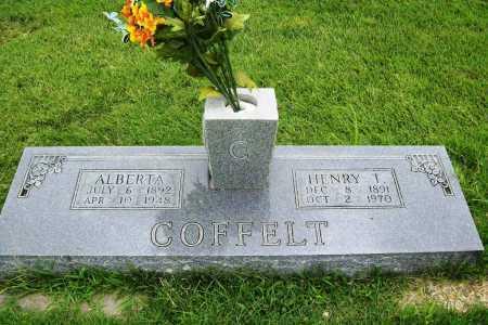 COFFELT, ALBERTA - Benton County, Arkansas | ALBERTA COFFELT - Arkansas Gravestone Photos