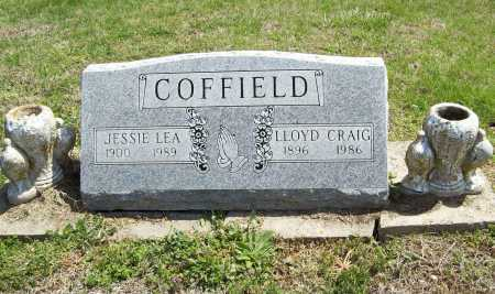 COFFIELD, JESSIE LEA - Benton County, Arkansas | JESSIE LEA COFFIELD - Arkansas Gravestone Photos