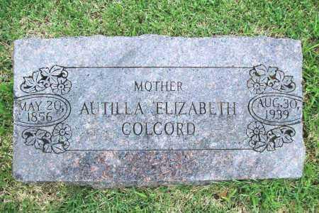 COLCORD, AUTILLA ELIZABETH - Benton County, Arkansas | AUTILLA ELIZABETH COLCORD - Arkansas Gravestone Photos