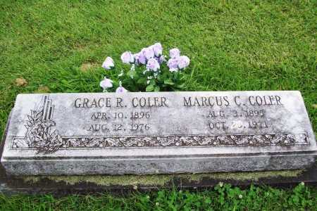 COLER, MARCUS CHRIS - Benton County, Arkansas | MARCUS CHRIS COLER - Arkansas Gravestone Photos