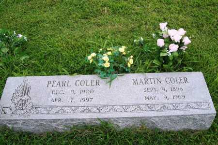 COLER, MARTIN - Benton County, Arkansas | MARTIN COLER - Arkansas Gravestone Photos
