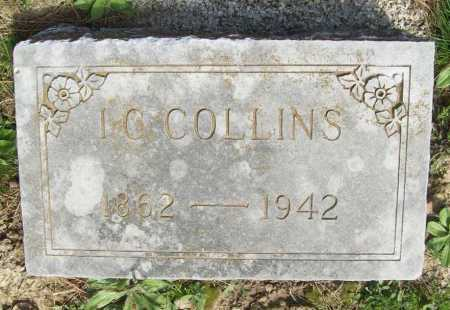 COLLINS, I. C. - Benton County, Arkansas | I. C. COLLINS - Arkansas Gravestone Photos