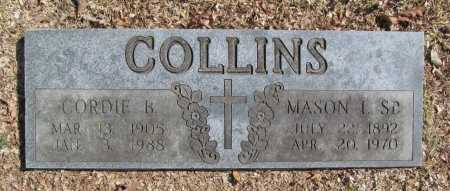 COLLINS, MASON L. SR. - Benton County, Arkansas | MASON L. SR. COLLINS - Arkansas Gravestone Photos