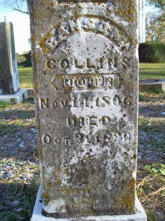 COLLINS, RANSOM (CLOSEUP) - Benton County, Arkansas | RANSOM (CLOSEUP) COLLINS - Arkansas Gravestone Photos