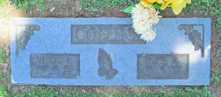COLLINS, VIRGIL F. - Benton County, Arkansas | VIRGIL F. COLLINS - Arkansas Gravestone Photos