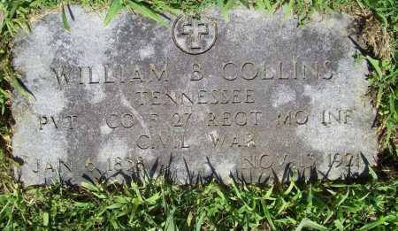 COLLINS (VETERAN UNION), WILLIAM B - Benton County, Arkansas | WILLIAM B COLLINS (VETERAN UNION) - Arkansas Gravestone Photos