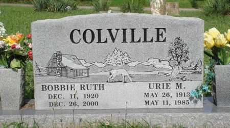COLVILLE, BOBBIE RUTH - Benton County, Arkansas | BOBBIE RUTH COLVILLE - Arkansas Gravestone Photos