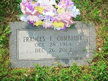 COMBRINK, FRANCES F. - Benton County, Arkansas | FRANCES F. COMBRINK - Arkansas Gravestone Photos