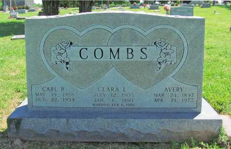 COMBS, AVERY - Benton County, Arkansas | AVERY COMBS - Arkansas Gravestone Photos