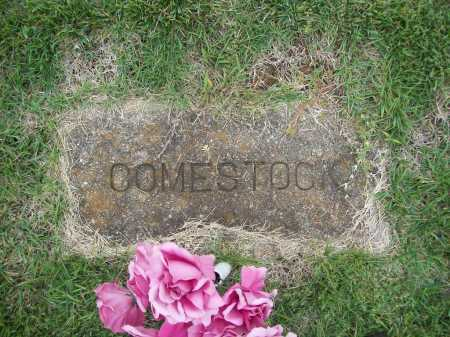 COMESTOCK, UNKNOWN - Benton County, Arkansas | UNKNOWN COMESTOCK - Arkansas Gravestone Photos